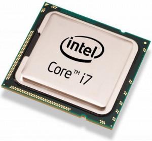 یک پردازنده ی ساخت شرکت اینتل