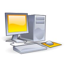 یک رایانه رومیزی Desktop Computer