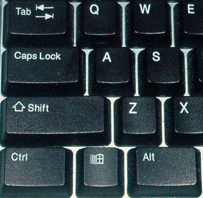 کلید tab