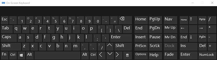 صفحه کلید Keyboard