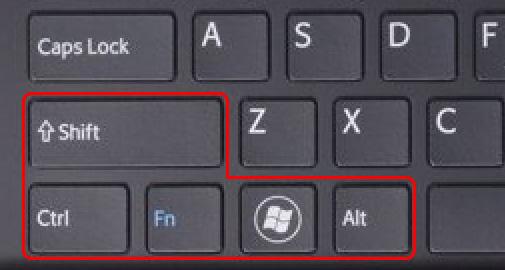 پنج کلید تغییردهنده (Modifier Key) پرکاربرد در صفحه کلید یک لپ تاپ سونی
