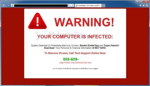 ترس افزار Scareware