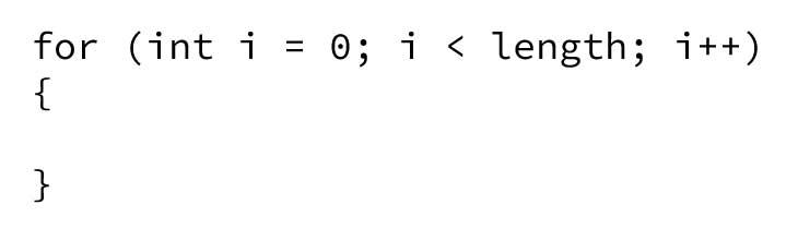 قطع کد حاصل از اسنیپت for