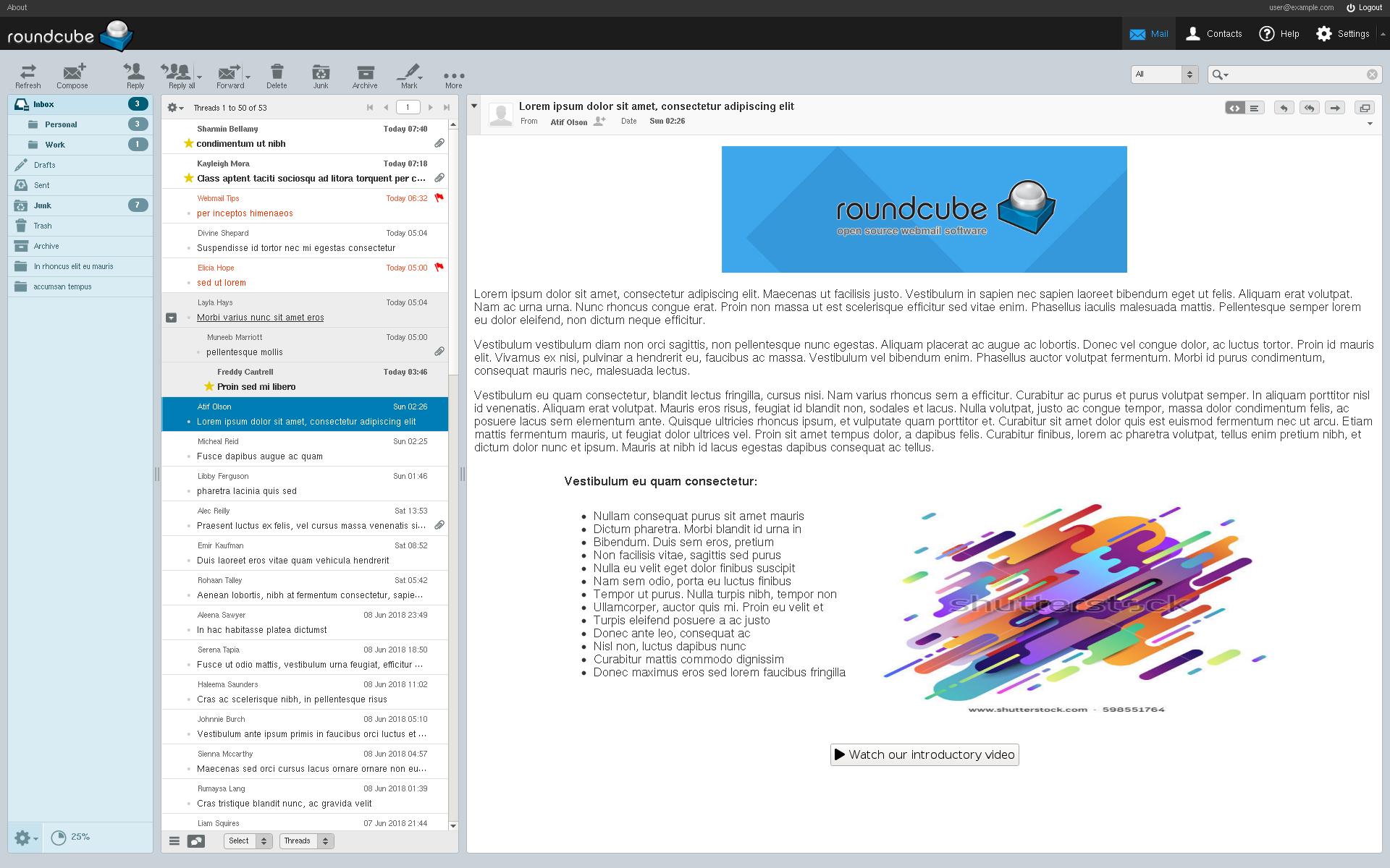 وب میل Webmail