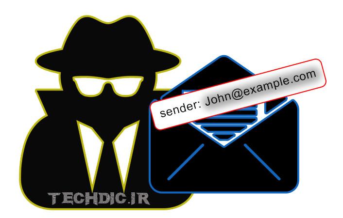 رایانامه نگاری جعلی - ایمیل اسپوفینگ Email Spoofing
