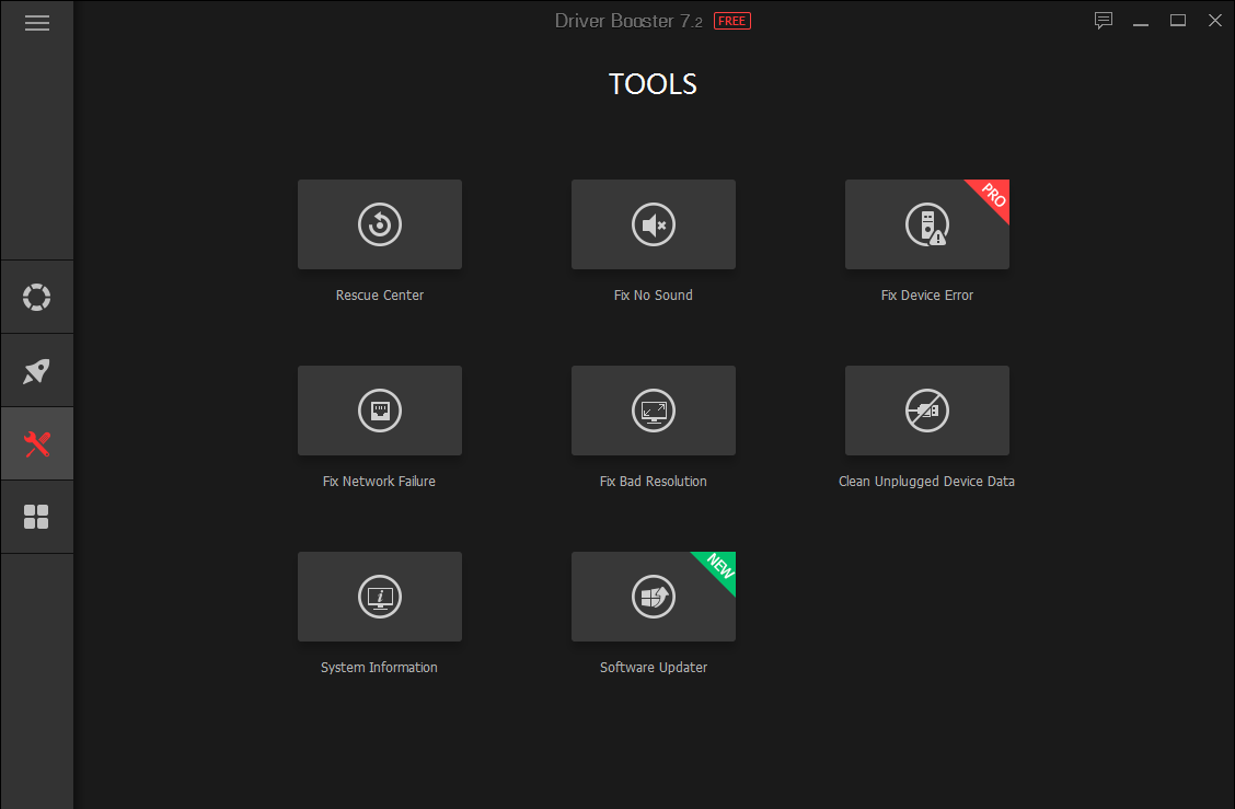 ابزارهای نرم افزار Driver Booster