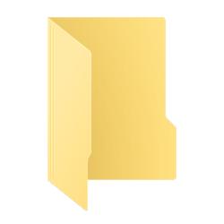 آیکون فولدر برای نمایش دایرکتوری ها در ویندوز 10