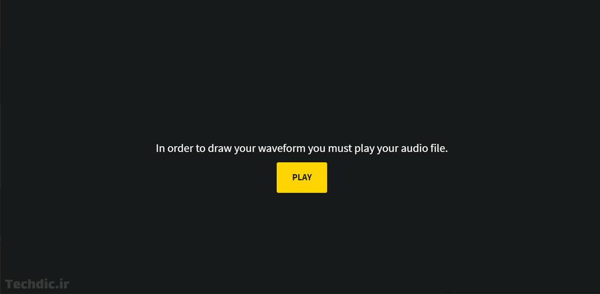 رسم و تولید امواج صدا با فرمت وکتور توسط Waveformer