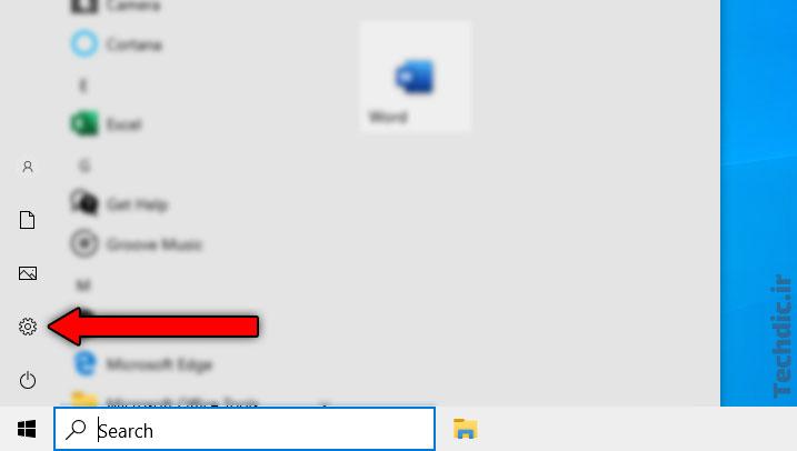 تعیین مرورگر دلخواه به عنوان مرورگر وب پیشفرض در ویندوز 10 - ورود به بخش Settings