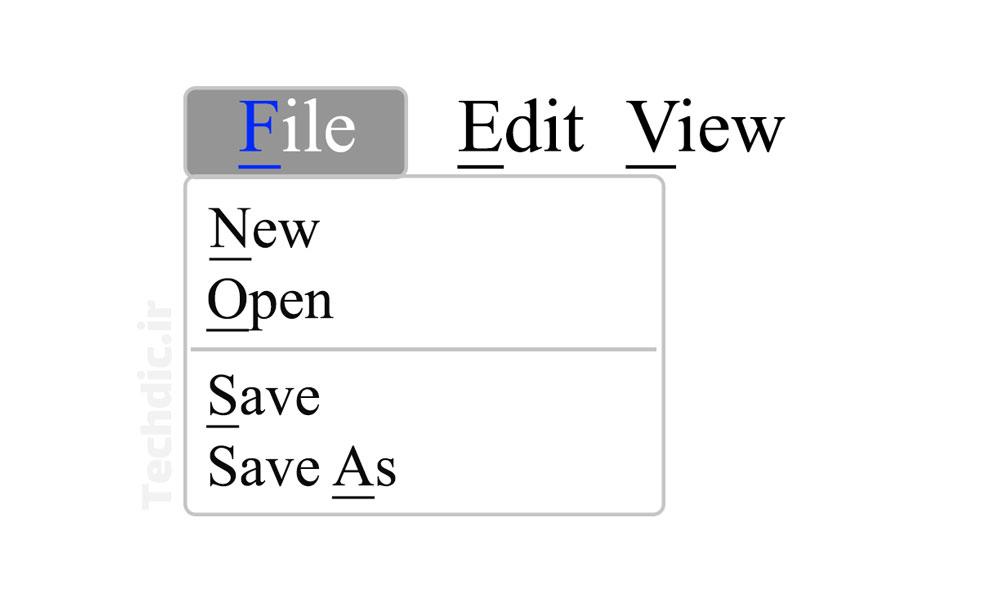 کاراکتر یادیار - کاراکتر کمک حافظه - کاراکتر نمونیک Mnemonic character